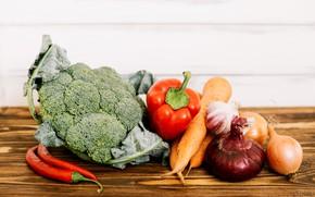 Картинка лук, овощи, морковь, картофель