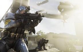 Картинка gun, game, weapon, Call Of Duty, suit, uniform, seifuku, Call Of Duty Infinite Warfare