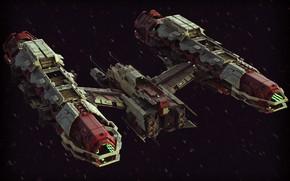Картинка космический корабль, летательный аппарат, Peacekeeper Nephthys