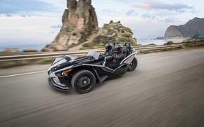 Картинка beautiful, comfort, hi-tech, Polaris, Slingshot, tecnology, sporty, tricycle, 020