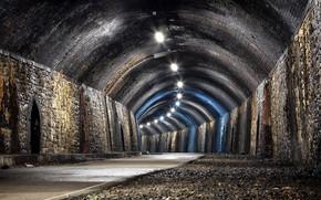 Картинка дорога, город, Tunnel vision