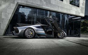 Обои AMG, Mercedes AMG Project One, Mercedes - Benz, Мерседес - Бенц, 2017, Frankfurt Motor Show, ...