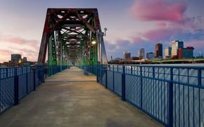 Картинка мост, США, Arkansas, Little Rock, Арканзас