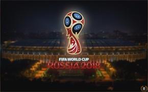 Картинка Спорт, Лого, Футбол, Москва, Логотип, Россия, 2018, Стадион, ФИФА, FIFA, Лужники, ЧМ 2018, Чемпионат мира …
