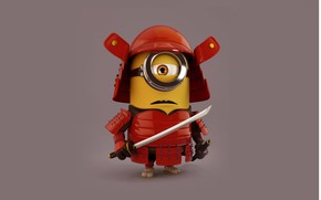 Картинка Japan, sword, toy, armor, X-Men, katana, ken, blade, samurai, hero, asian, animated film, Despicable Me, …