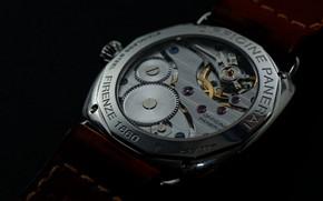 Обои часы, детали, механизм