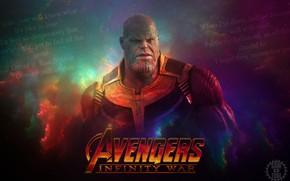 Картинка Marvel, Злодей, Мстители, Avengers, Josh Brolin, Джош Бролин, Марвел, Титан, Infinity War, Titan, Thanos, Танос, …