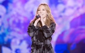 Картинка k-pop, Taeyeon, blond hair, Kpop. Singer