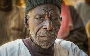 Картинка щетина, темнокожий мужчина, African portrait