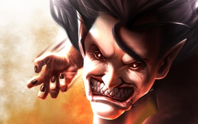 Картинка blood, game, monster, big, anime, face, fang, asian, giant, manga, japanese, oriental, asiatic, powerful, strong, …