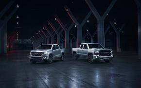Картинка Chevrolet, джип, внедорожник, пикап, Colorado, Silverado