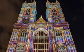 Картинка Лондон, London, England, Westminster Abbey, аббатство