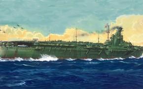 Картинка aircraft carrier, IJN, junyo