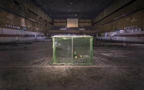 Картинка ворота, зал, хоккей