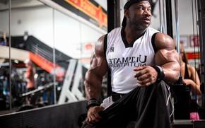 Картинка поза, muscle, мышцы, атлет, бодибилдер, biceps, bodybuilder, Dexter Jackson, Bodybuilder, Бицепс, Декстер Джексон