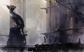 Картинка Game, The Last Guardian, Trico