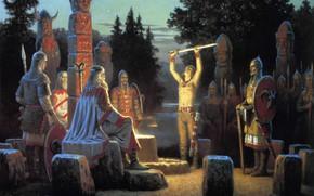 Картинка Славяне, Язычество, Боги, Славянство