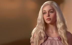Картинка арт, игра престолов, Кхалиси, Daenerys Targaryen, Mother of Dragons, Дейнерис Таргариен, Junxiao Fang, ИП
