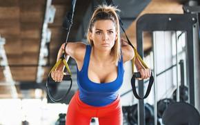 Картинка model, female, workout