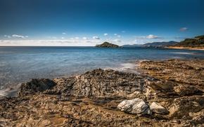 Картинка Природа, Камни, Италия, Побережье, Southern Sardinia