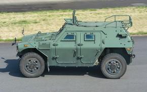 Картинка японский, Komatsu LAV, военный автомобиль