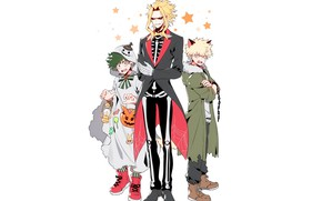 Картинка аниме, арт, Boku no Hero Academia, Моя геройская акадеимя