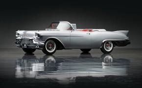 Картинка retro, 1957, Biarritz, Cadillac Eldorado