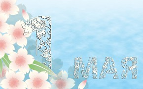 Картинка фон, праздник, весна, 1 мая