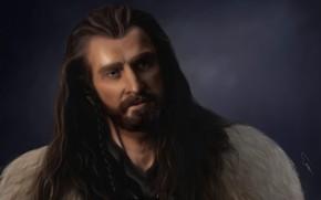 Картинка арт, Живопись, гном, The Hobbit, Торин II Дубощит, король народа Дурина