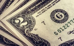 Картинка макро, деньги, долары