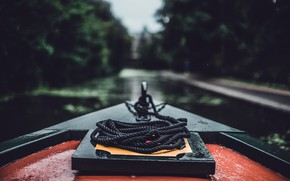 Картинка лодка, верёвка, шкерт