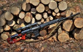 Картинка Снайперская винтовка Драгунова, самозарядная, СВД