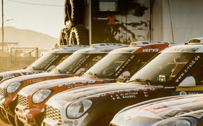 Картинка Mini, Спорт, Rally, Ралли, X-raid, MINI Cooper, X Raid, Xraid