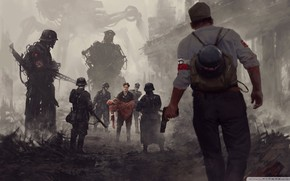 Картинка 1944, German Army, Fiction of the Second World, Warsaw Rising