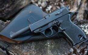 Картинка пистолет, 1960, Manurhin P1
