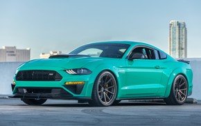 Обои Roush, 729, 2018, Ford Mustang