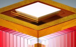 Обои абстракция, краски, конструкция, объем