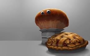 Картинка настроение, арт, хлеб, каравай, MMMM pie!, Servando Lupini