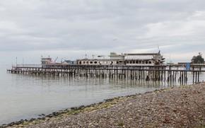 Картинка Море, Абхазия, Пристань, Сухум