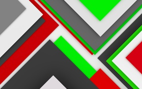 Обои 3D rendering, background, design, colorful, abstract, geometry, geometric shapes