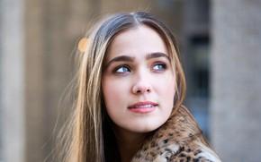 Картинка портрет, актриса, Haley Lu Richardson