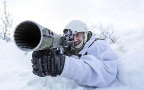 Картинка солдат, NATO, Norwegian Army