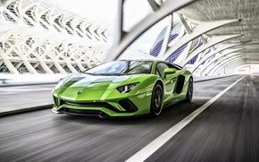 Картинка Lamborghini, Aventador, ламборгини, 2017 Lamborghini Aventador S