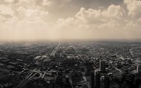 Картинка город, дороги, вид сверху, нью - йорк, headingwest
