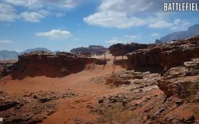 Картинка горы, камни, пустыня, Battlefield 1, Sinai Desert