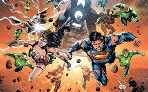 Картинка Меч, Герои, Бэтмен, Костюм, Маска, Супермен, Комикс, Heroes, Wonder Woman, Superheroes, Batman, Green Lantern, Superman, …