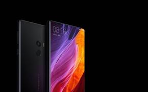 Обои logo, tecnology, smartphones, Xiaomi MI MIX, Xiaomi, Xiaomi MI