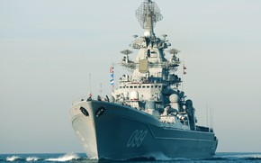 Обои ВМФ России, Проект 1144, Крейсер