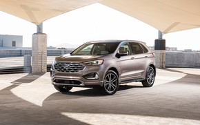 Обои Elite Package, 2019, Ford, Titanium, Edge