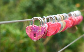 Картинка love, heart, romantic, lock